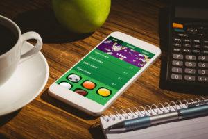 Betting App on Smartphone