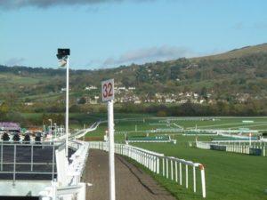 Cheltenham Racecourse Straight