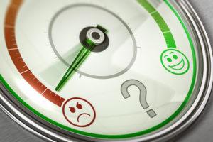 Customer Satisfaction Gauge