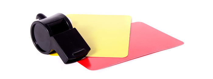 Referee's Whistle and Cards