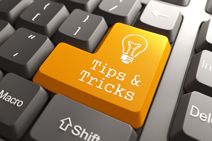 Tips and Tricks Lightbulb Keyboard Button