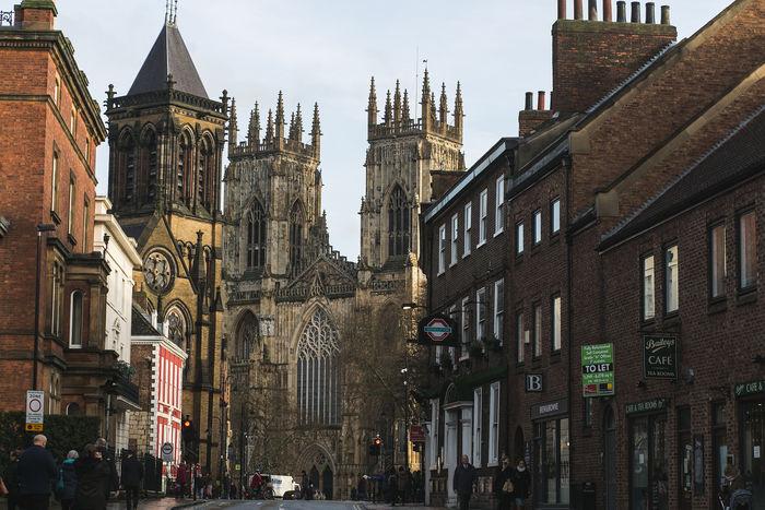 York Minster from Street