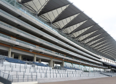 Ascot Racecourse Grandstand Front View