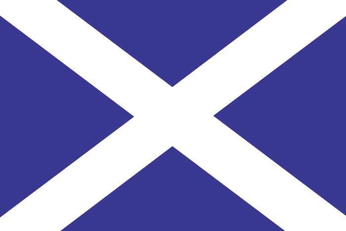 Scotland Flag Dark Blue