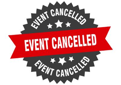 Event cancelled badge