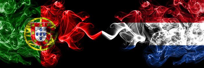 Portuguese and Dutch Smokey Flags