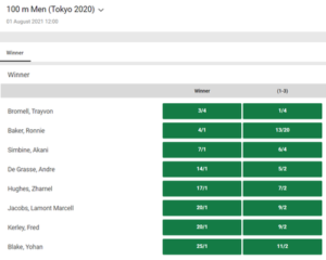 Unibet 2020 100M Betting