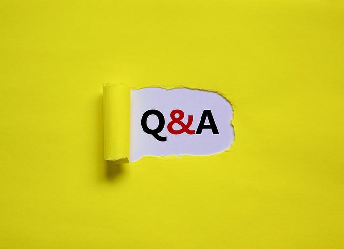 Q&A Torn Paper