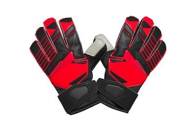Red and Black Goalkeeper Gloves