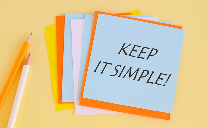 Keep It Simple Colourful Notes