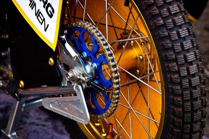 Speedway Bike Wheel and Chain